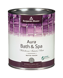Aura® Bath & Spa Waterborne Interior Paint