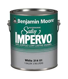 Waterborne Satin Impervo® Paint