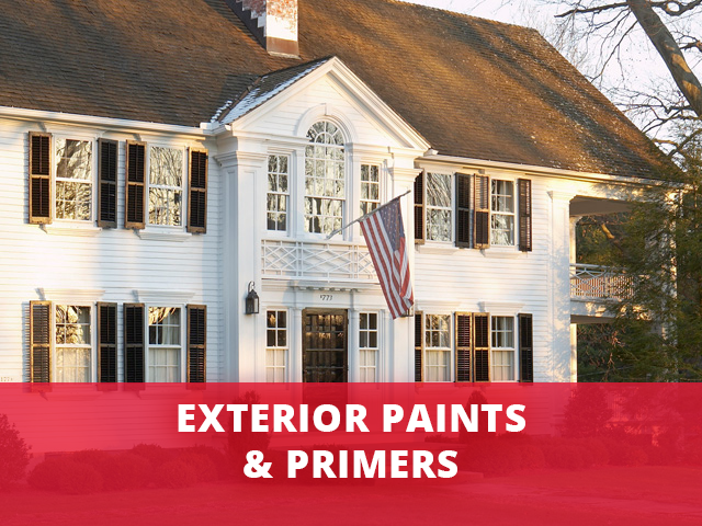 Exterior Paints & Primers