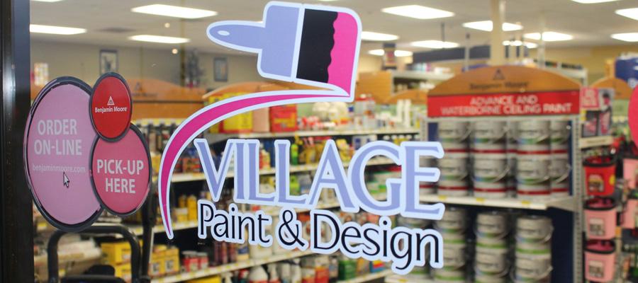 Village Paint & Design storefront